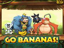 Онлайн игра Вперед Бананы с аппетитной тематикой и риском